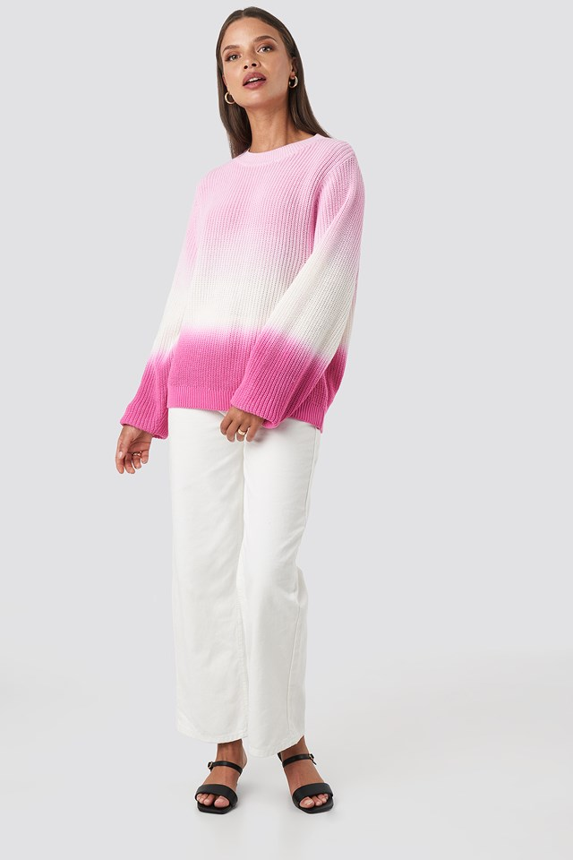 Degrade4 Sweater Pink
