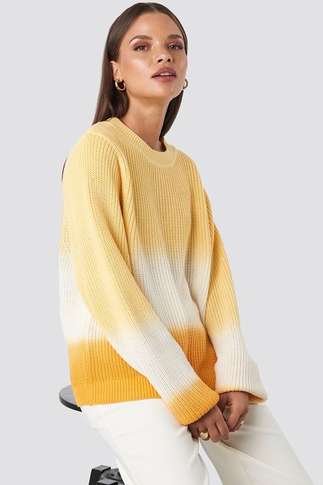 Degrade4 Sweater Yellow