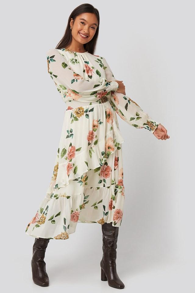 Delo2 Dress Offwhite