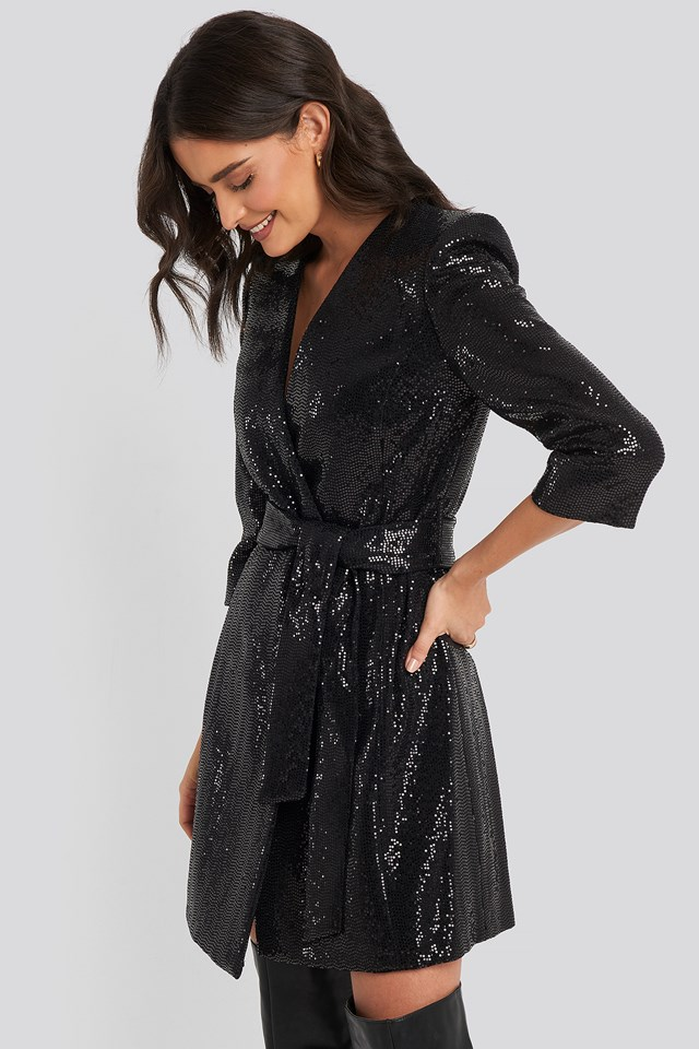 Disco Dress Black