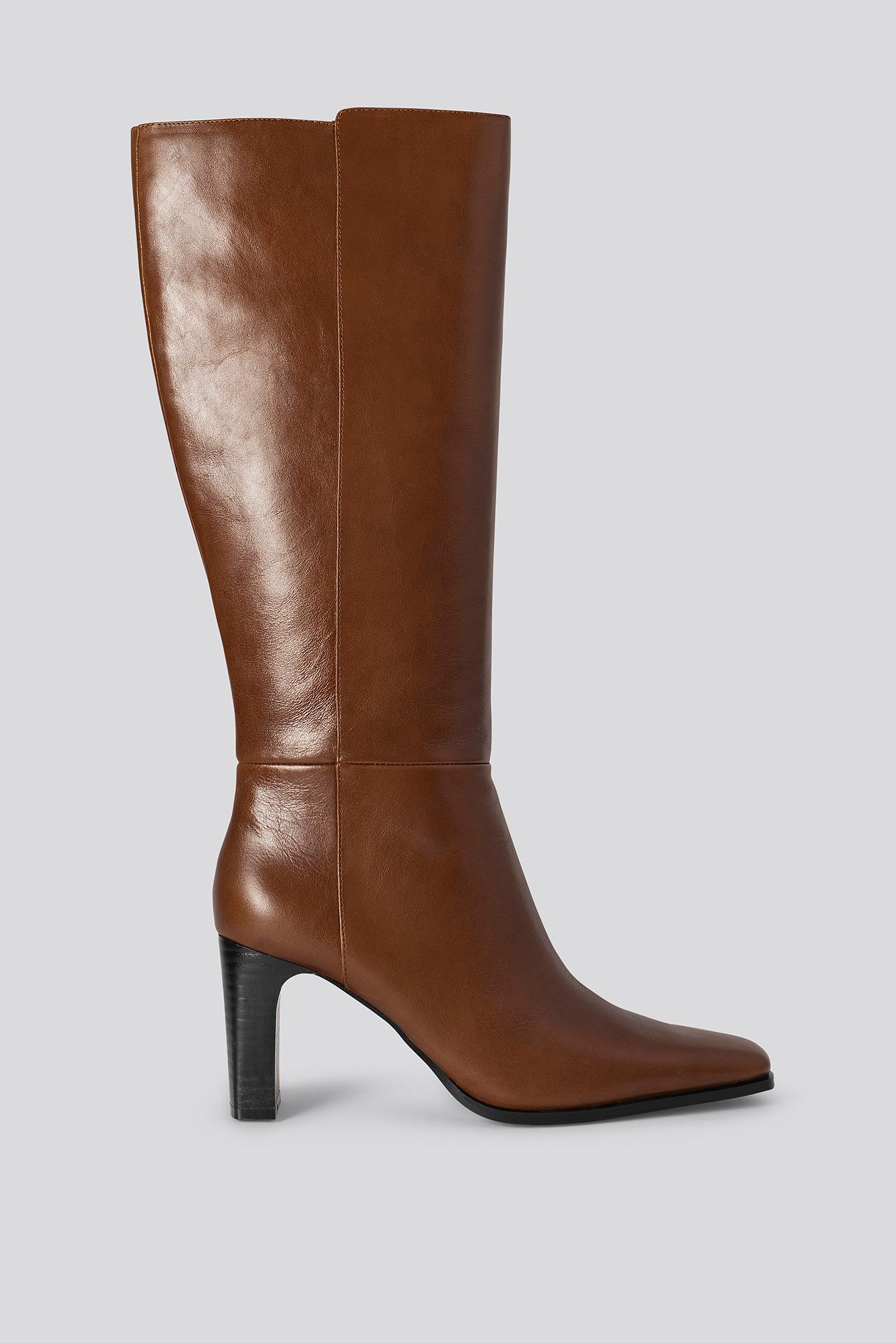 mango -  Diva Boots - Brown