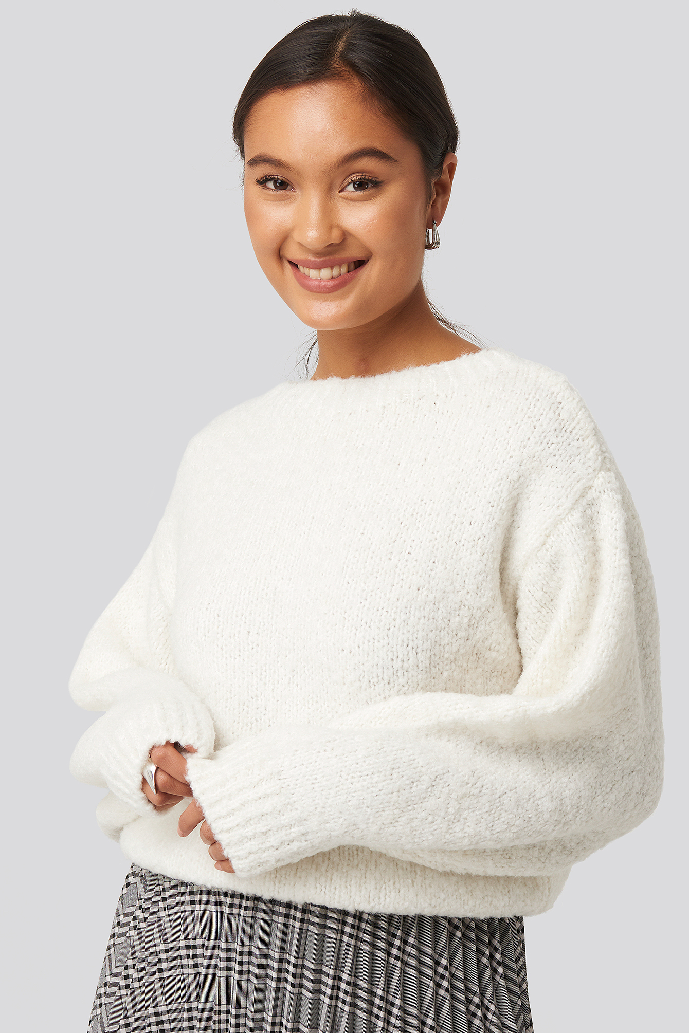 Dolly Sweater White by Mango