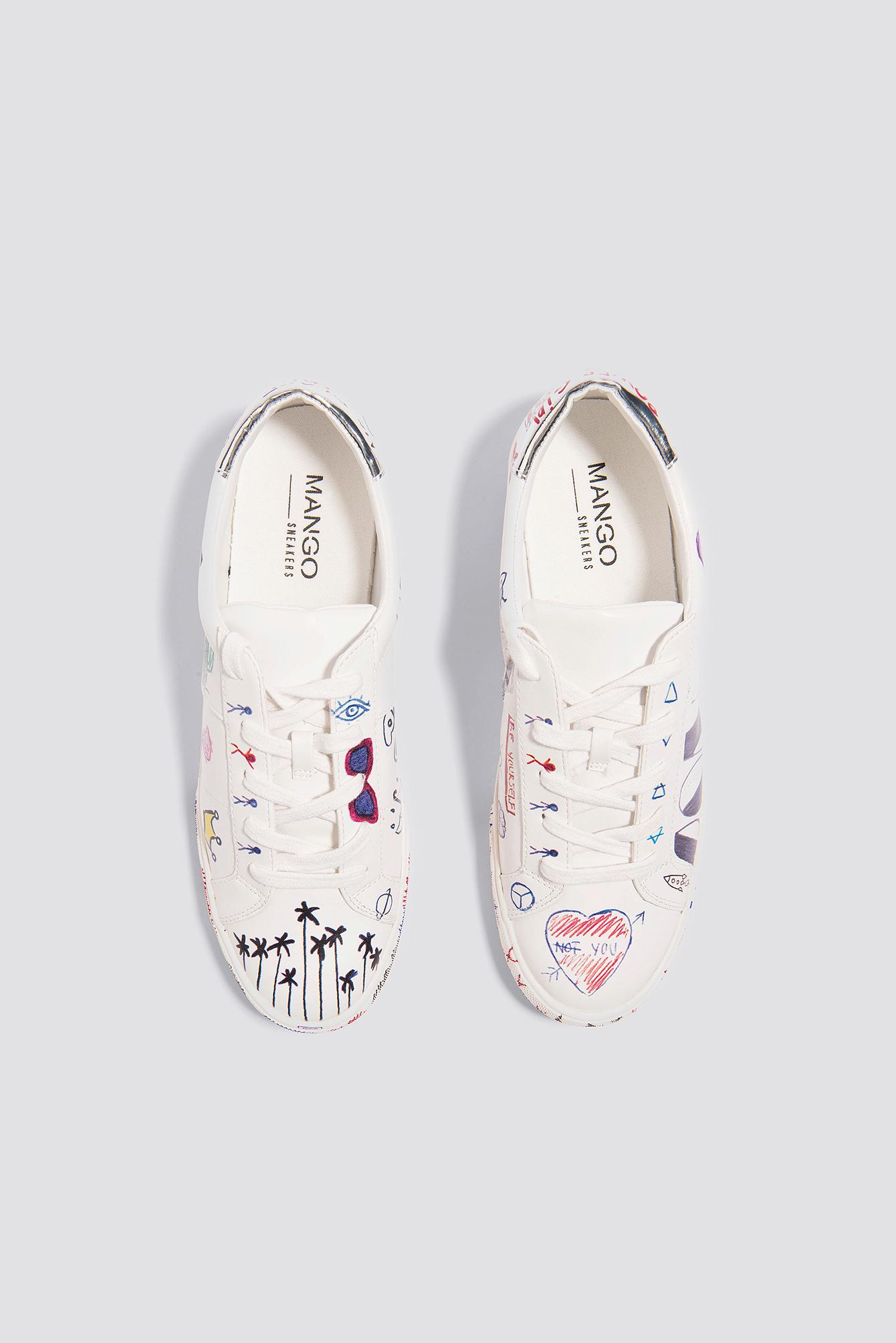 Doodles Design Sneakers NA-KD.COM