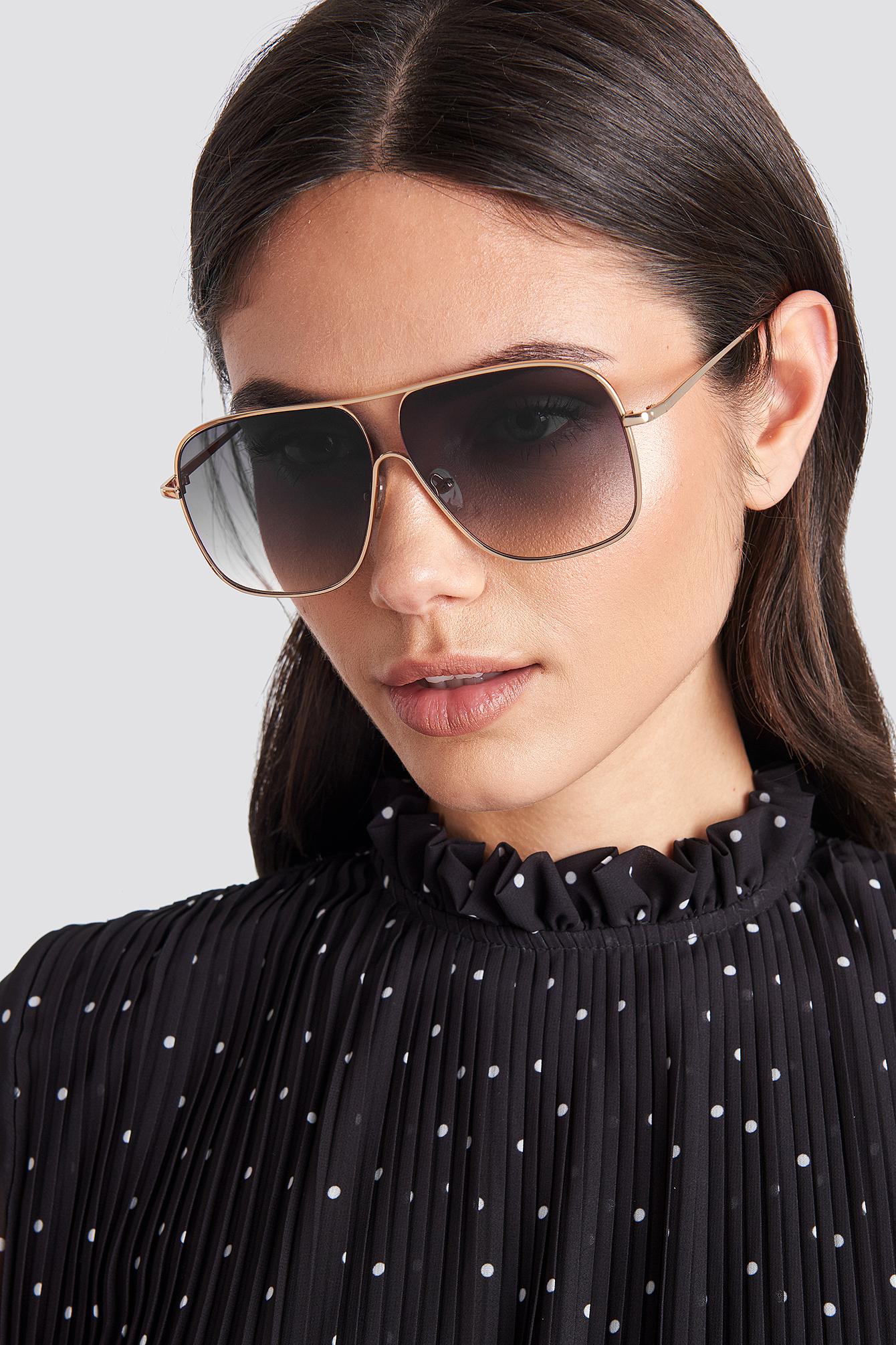 mango -  Double Sunglasses - Black
