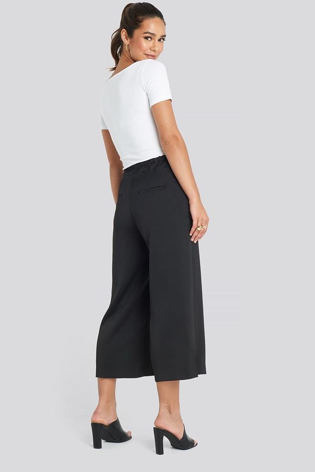 Easy Trousers Black