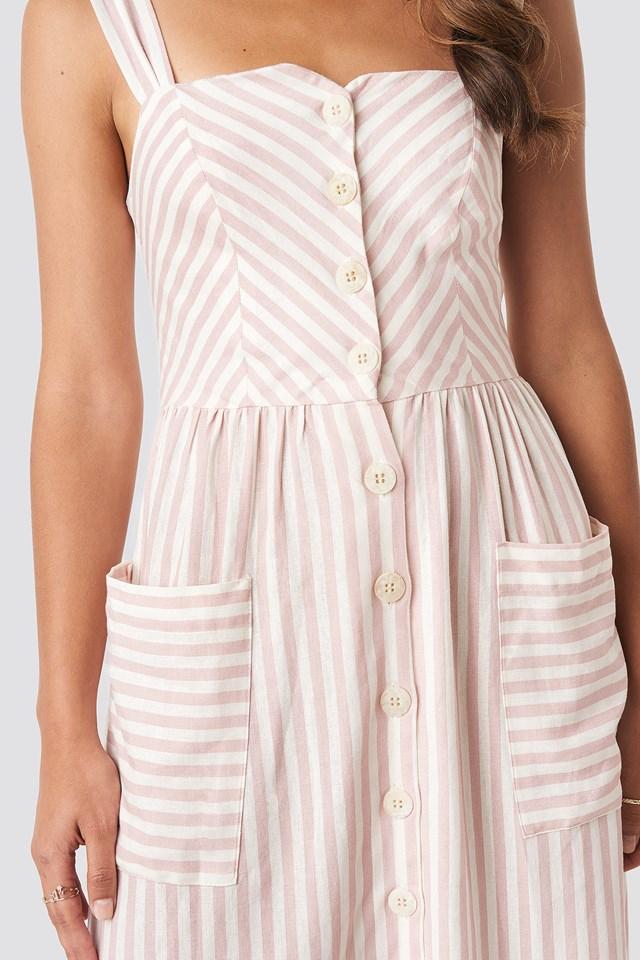 Emilia Dress Pastel Pink
