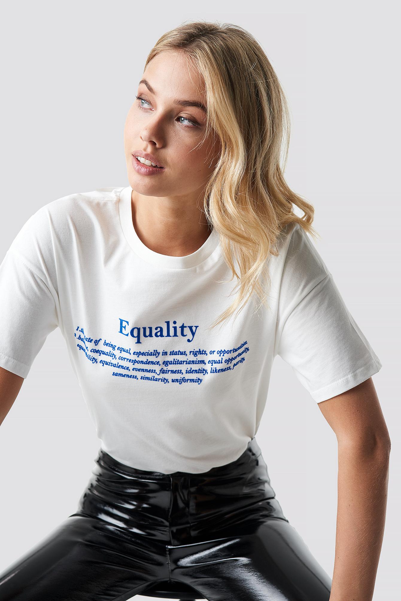 Equality Tee NA-KD.COM