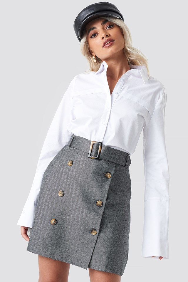 Espi Skirt Grey