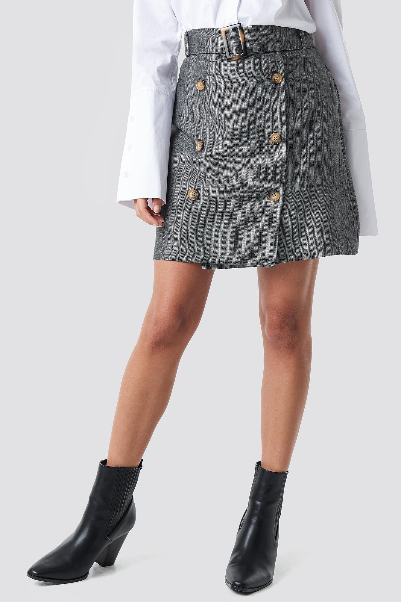 Espi Skirt NA-KD.COM