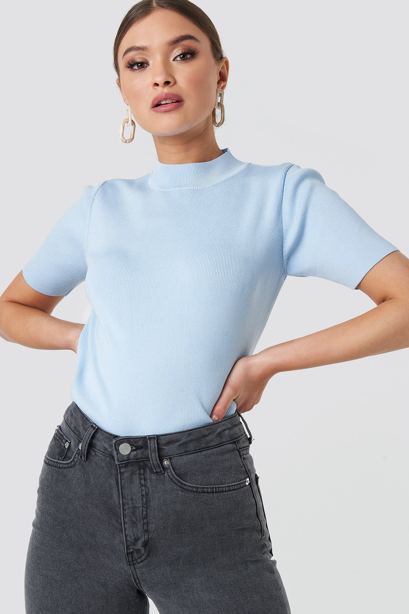 mango -  Estef Top - Blue
