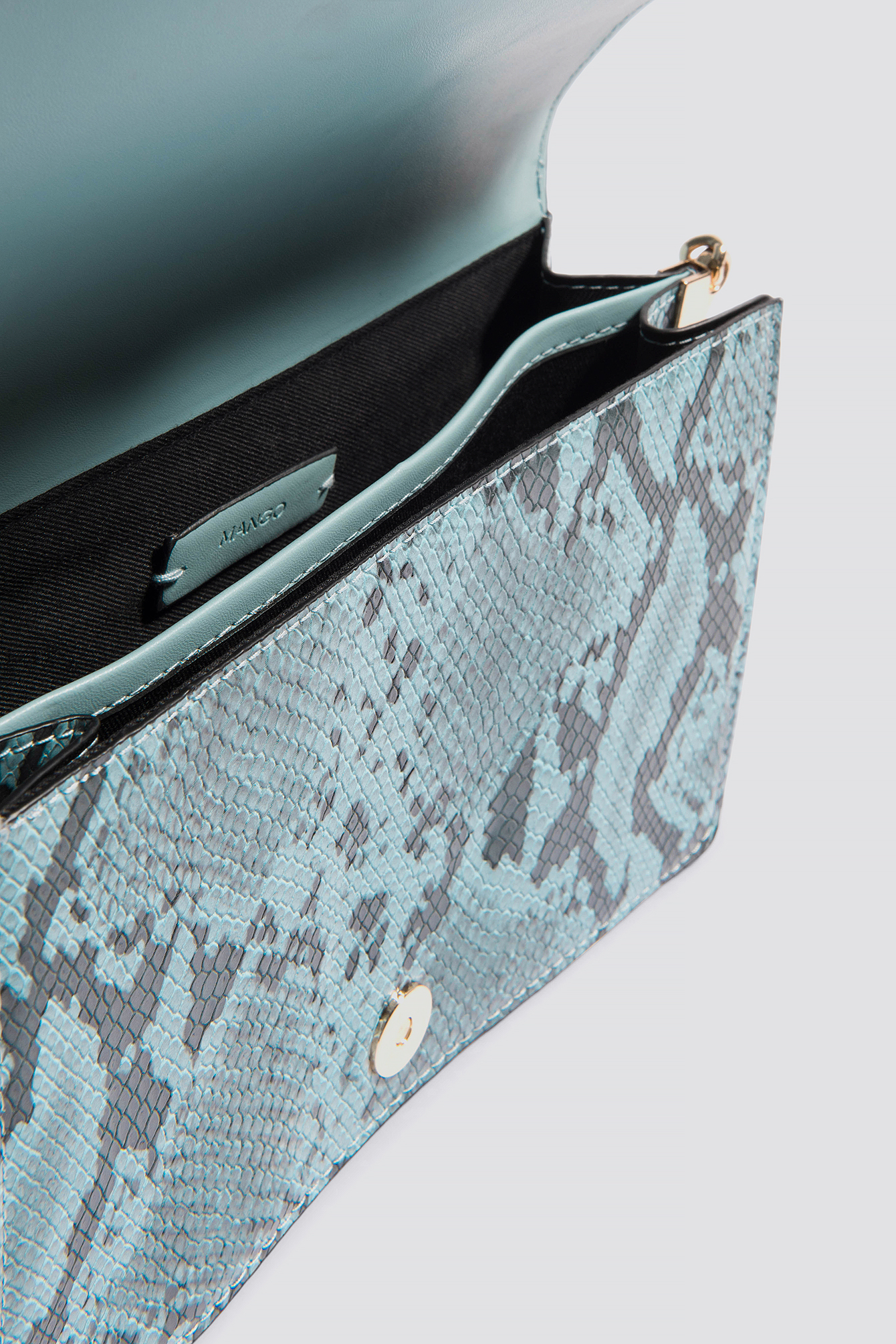 Faceted Crystal Snakeskin Bag NA-KD.COM
