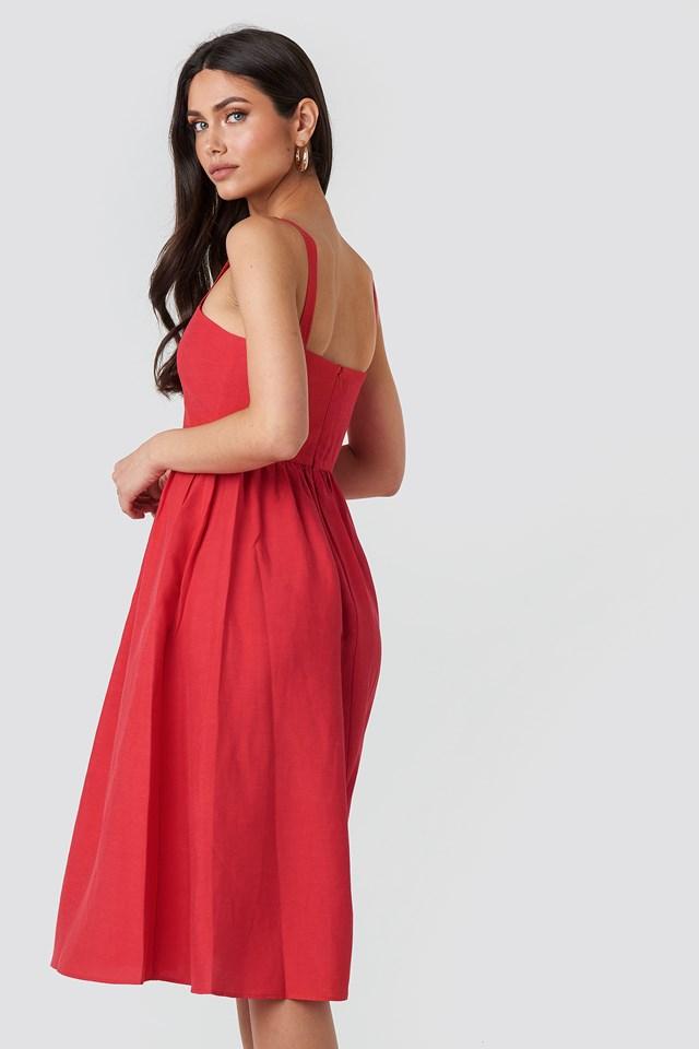 Fame Dress Red