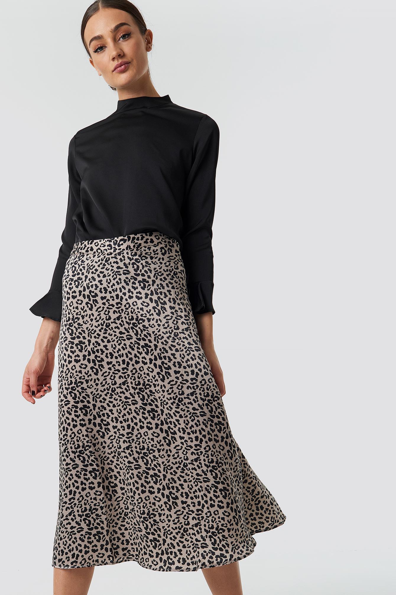 Fast Midi Skirt NA-KD.COM