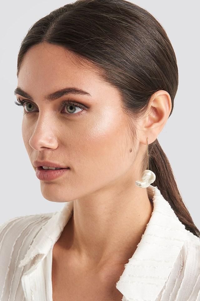 Flax Earrings Gold