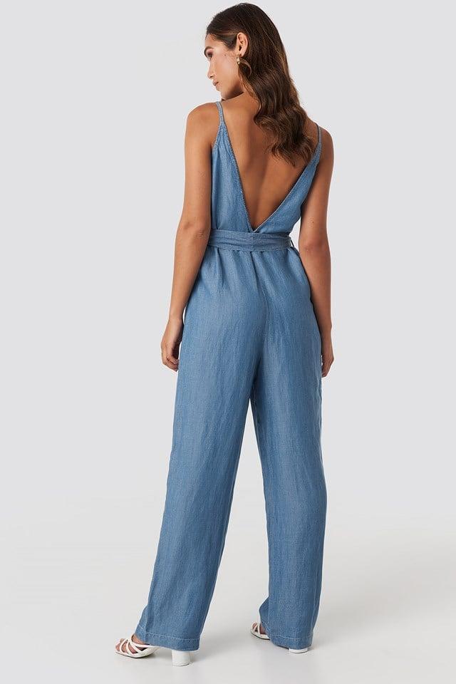 Flexi One-Piece Suit Medium Wash