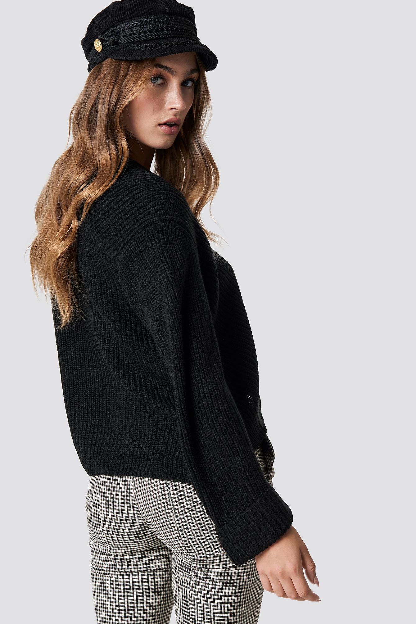 Sweter Fold NA-KD.COM