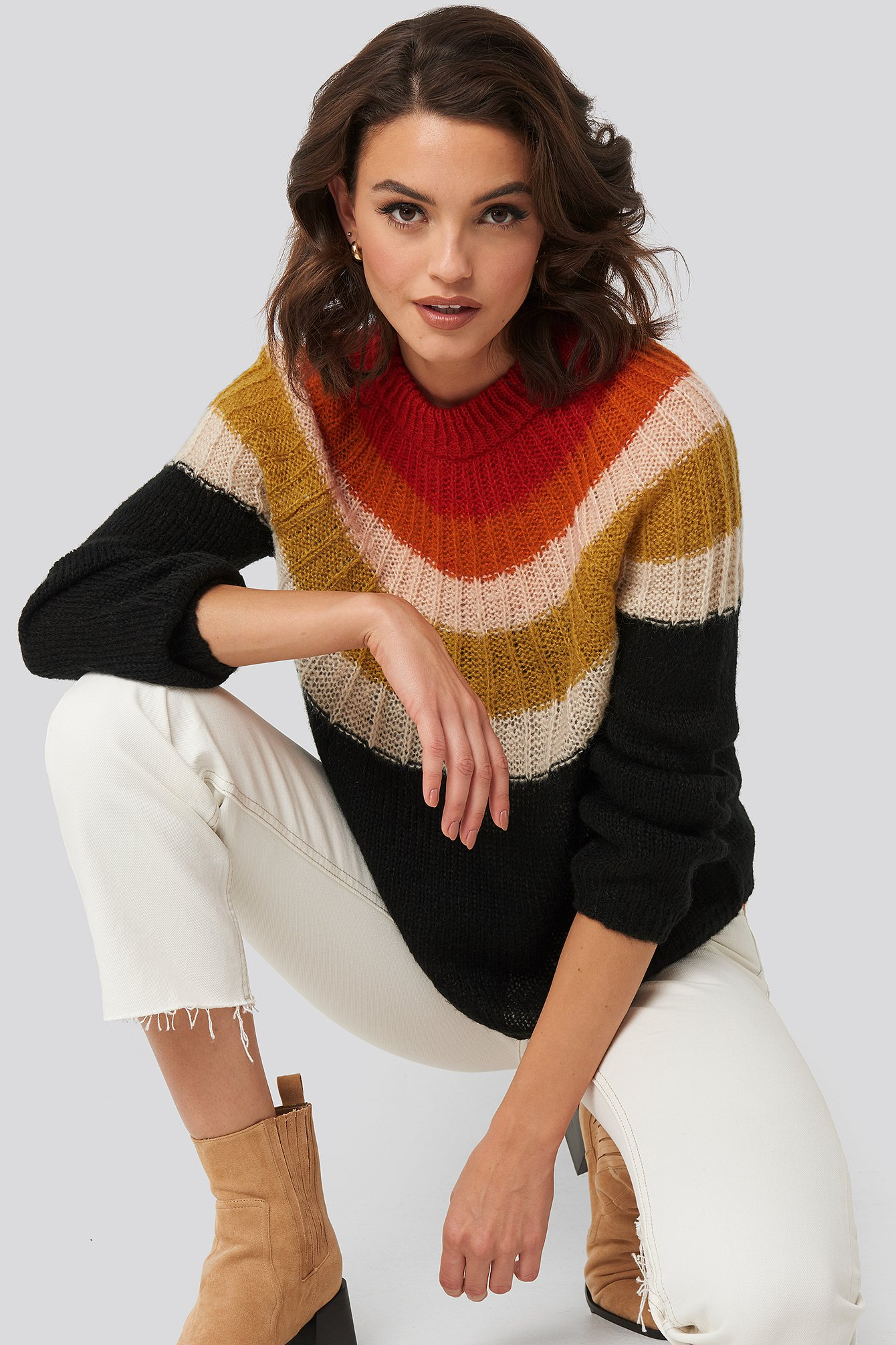 mango -  Funkyr Sweater - Multicolor