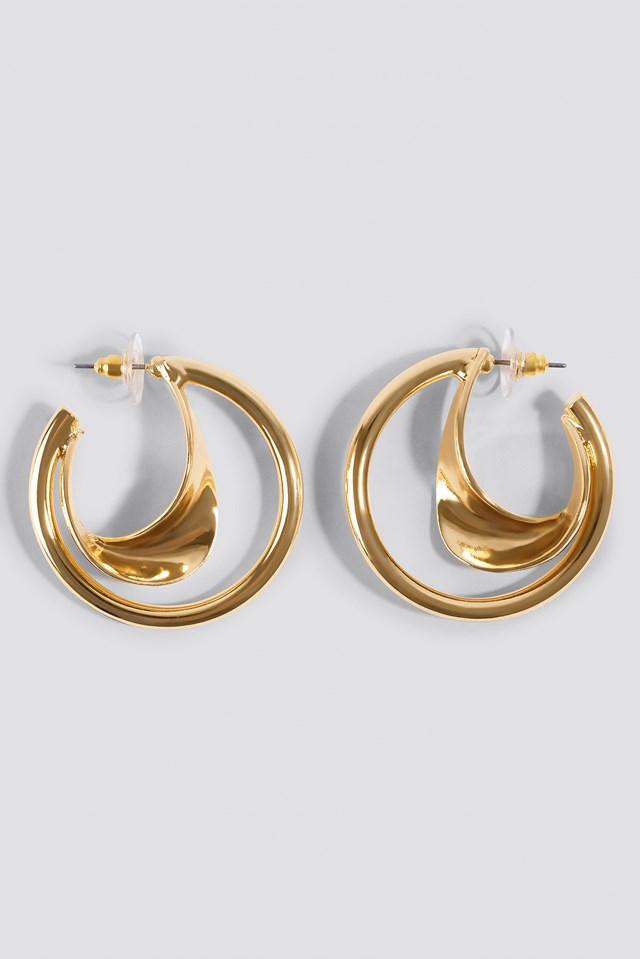 Gales Earrings Gold