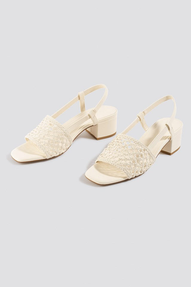 Gallura Sandals Offwhite