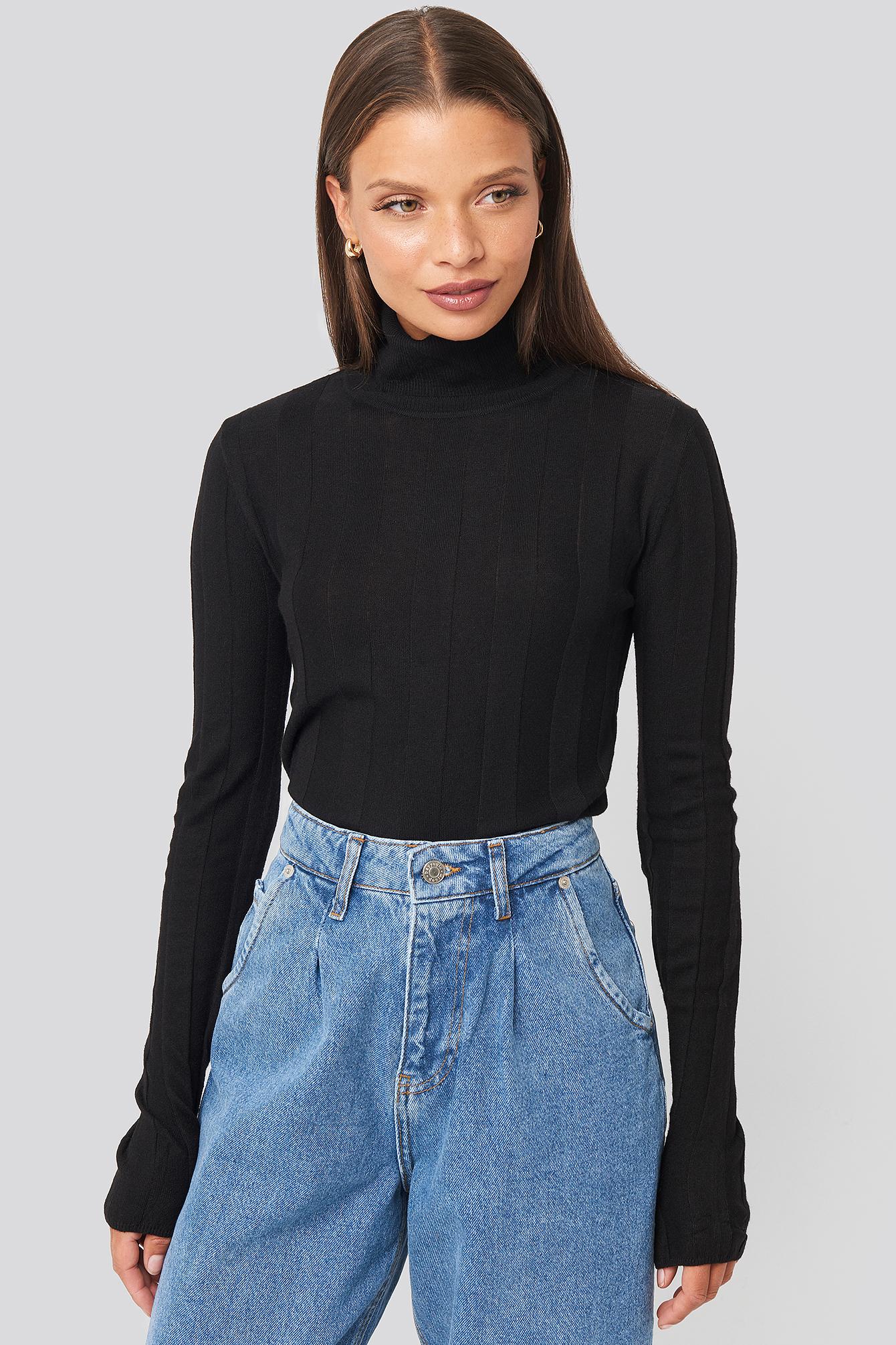 genovac-sweater-black by mango