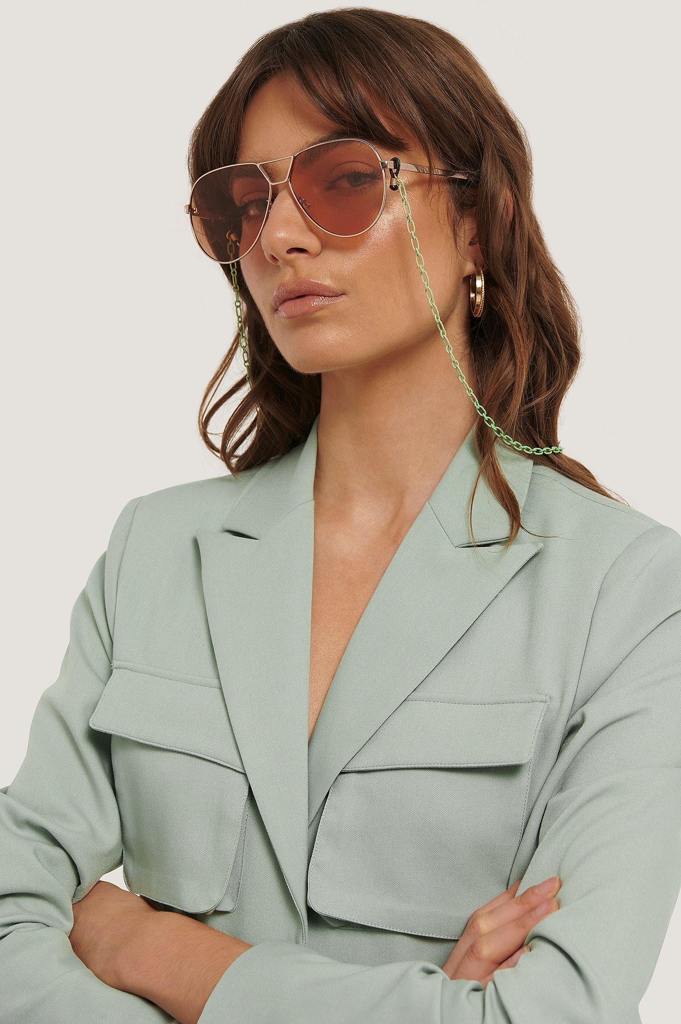 Green Gerolt Sunglasses Chain