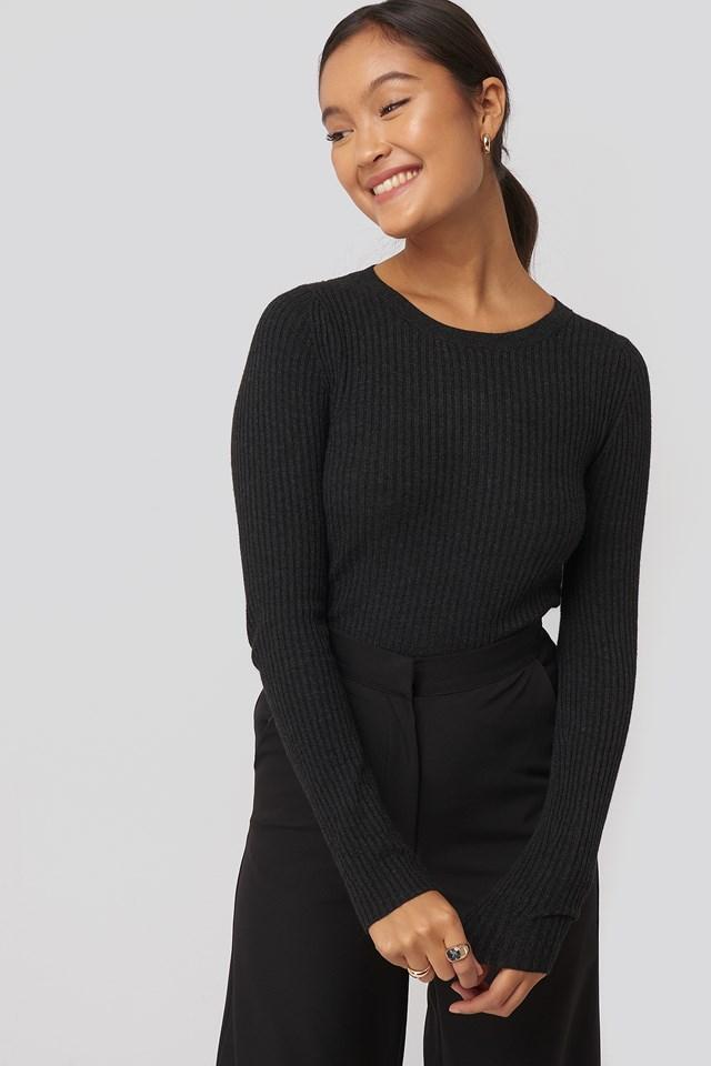 Godo Sweater Black