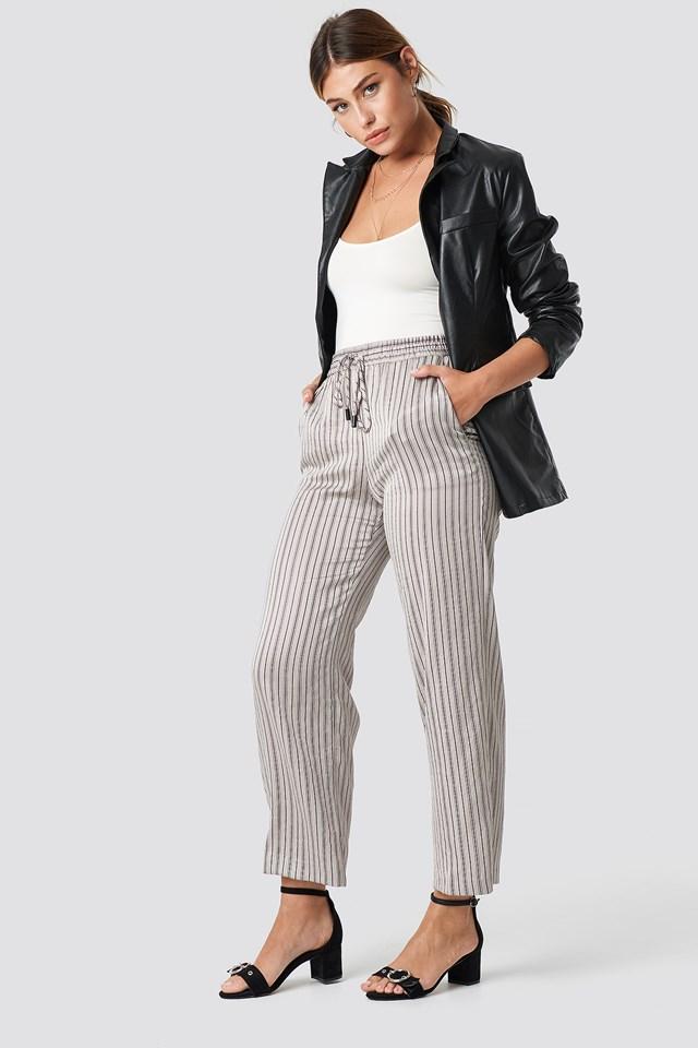 Guzman Trousers Ecru