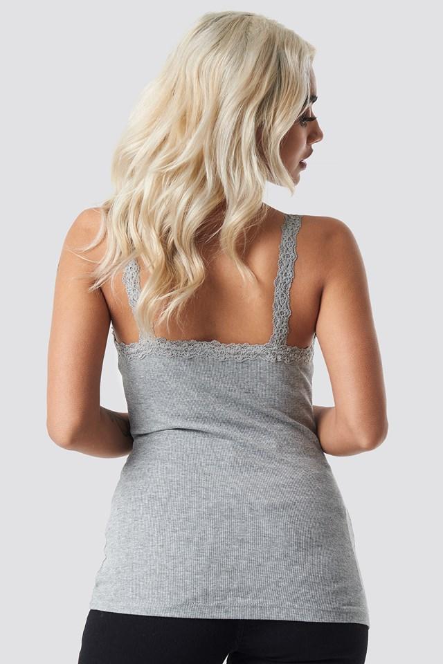 Helen Top Light Grey