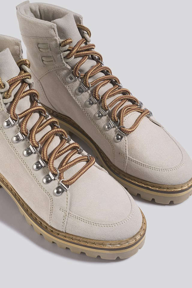 Holy Ankle Boots Light Beige