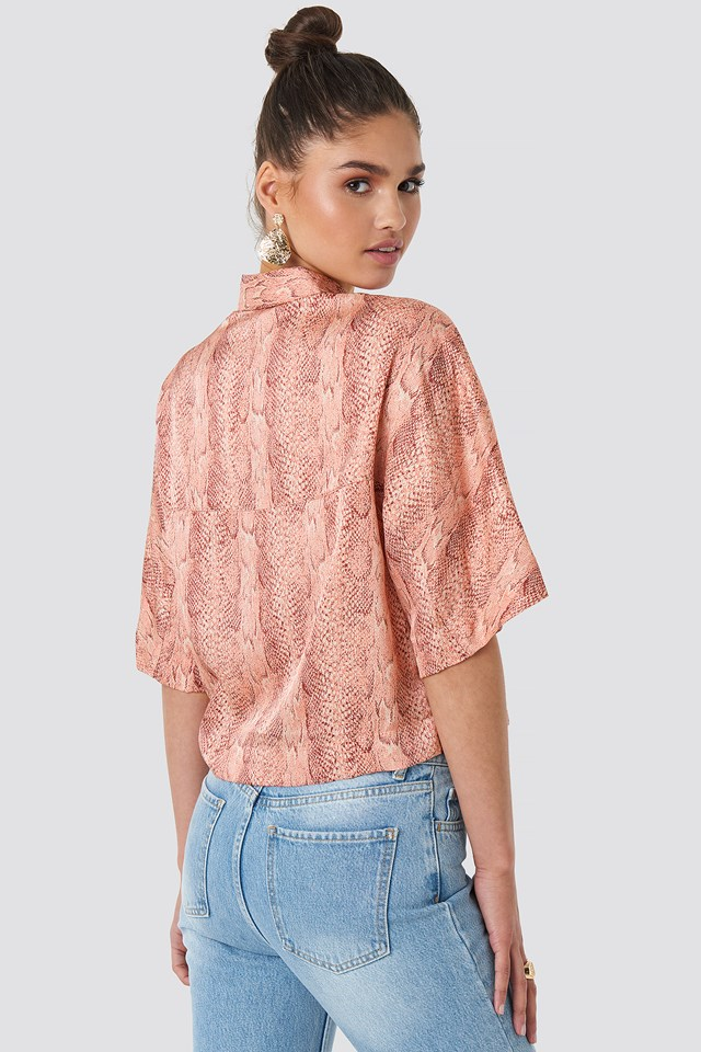 Ines Blouse Strawberry