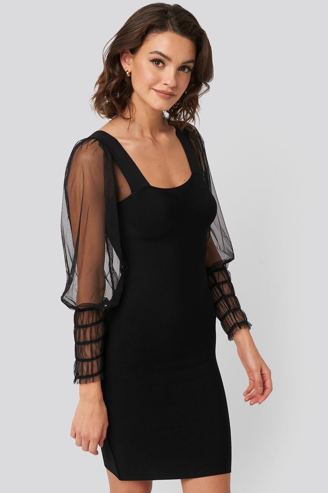 mango -  Jazz Dress - Black