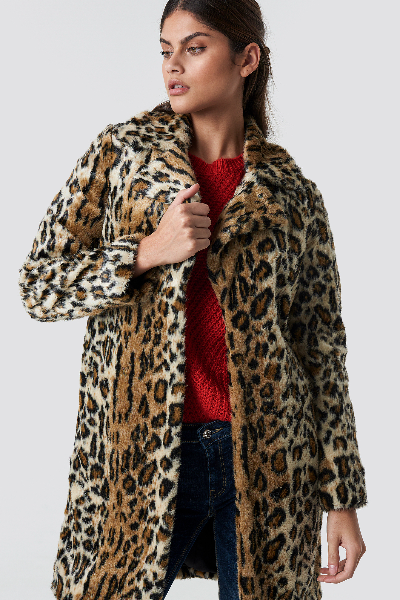 mango -  Kenia Coat - Multicolor