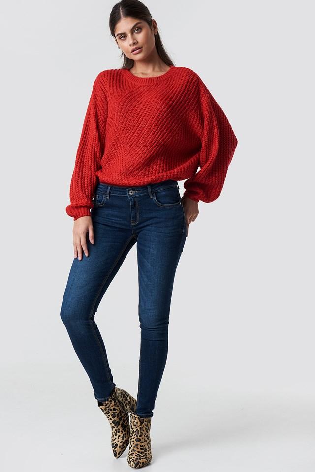 Kim Jeans Dark Jeans