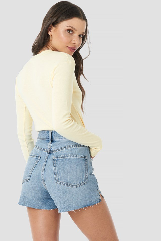 Lady Shorts Medium Denim