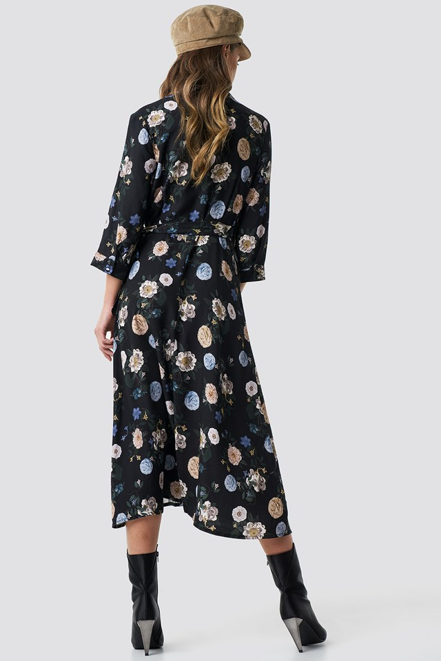 Lavanda Dress Black