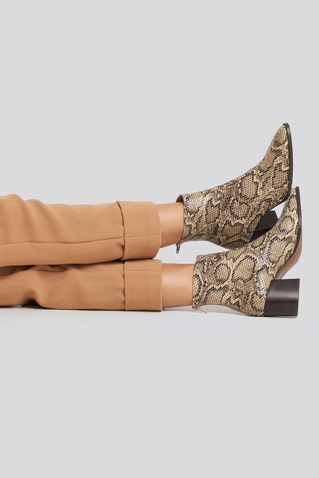 Lille1 Ankle Boots Khaki