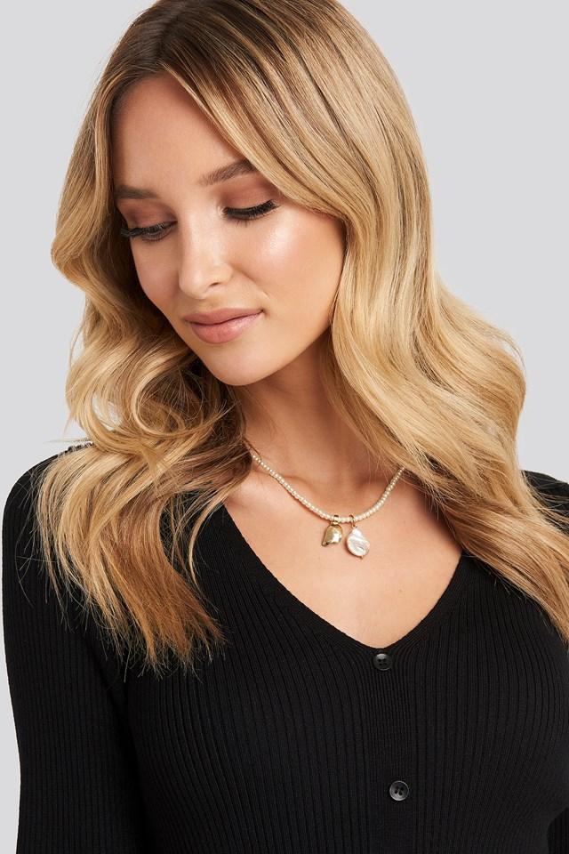 Lilo Necklace Light Gray