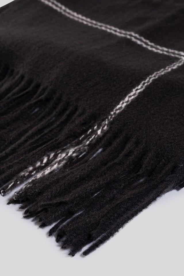 Lin Scarf Black