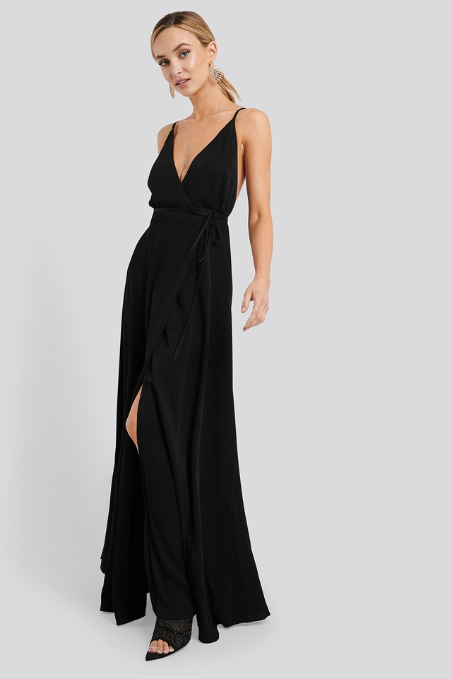 Longus Midi Dress Black