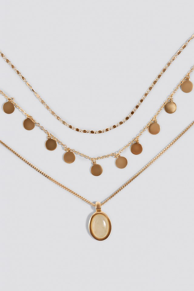 Lugano Necklace Gold