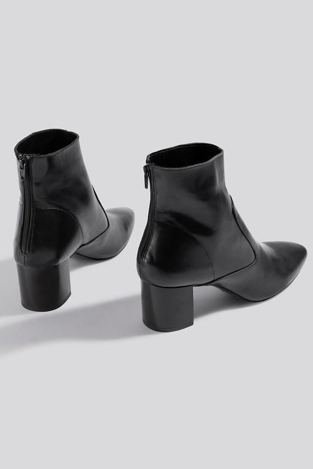 Lyon Ankle Boots Black