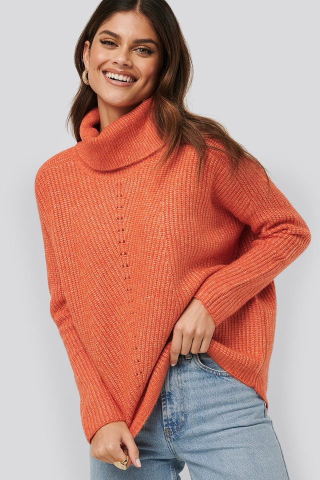 Mario Sweater Orange
