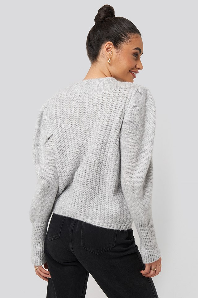 Mariposa Sweater Gray