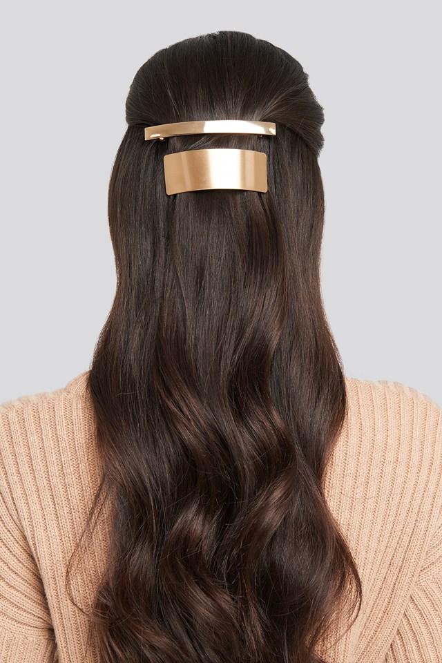 Mele Hairclip Gold