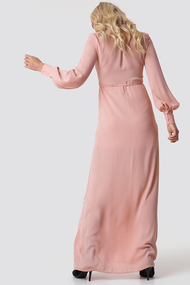 Mia-a Maxi Dress Pastel Pink