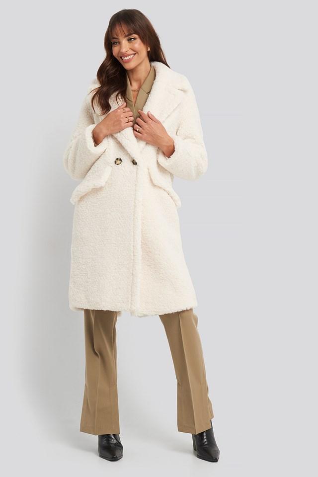 Michela Coat Offwhite