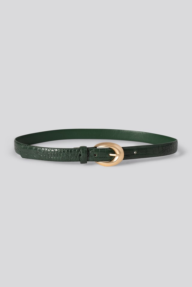 Miercole Belt Green