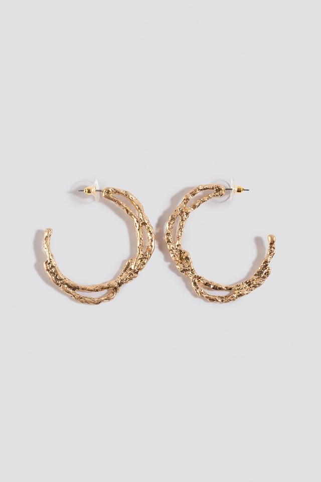 Miley Earrings Gold