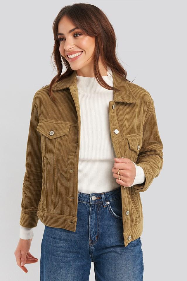 Milu Jacket Camel
