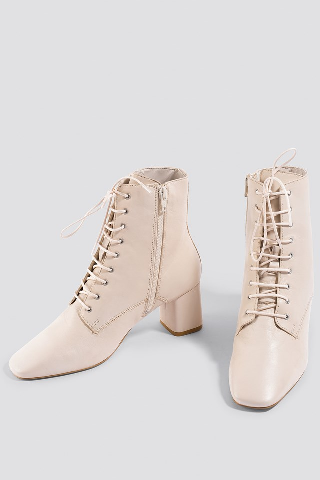 Molino Ankle Boots Vanilla